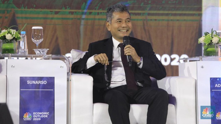 Direktur Utama BRI Sunarso (CNBC Indonesia/Andrean Kristianto)