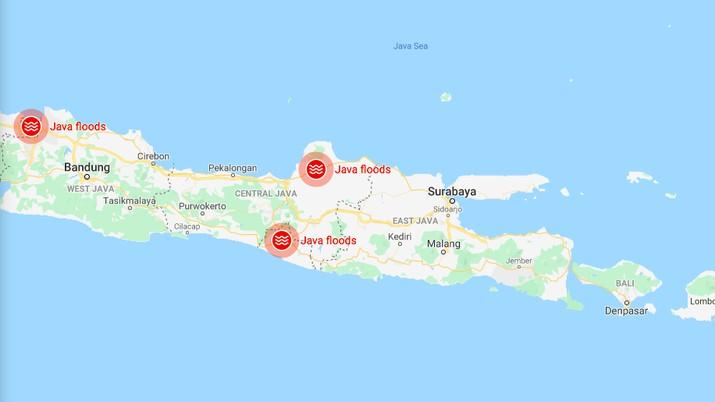 Begini Cara Pantau Wilayah Banjir Lewat Google Maps