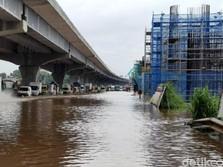 Picu Banjir Tol, Drainase di Proyek Kereta Cepat Dibongkar