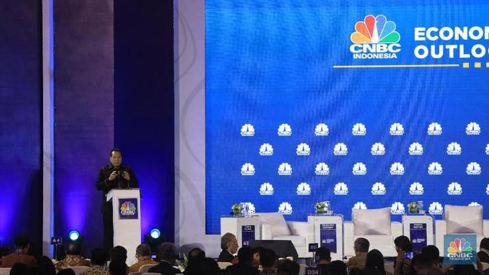 Pesan itu mengemuka dalam acara CNBC Indonesia Economic Outlook 2020 di The Ritz-Carlton, Jakarta, Rabu (26/2/2020).