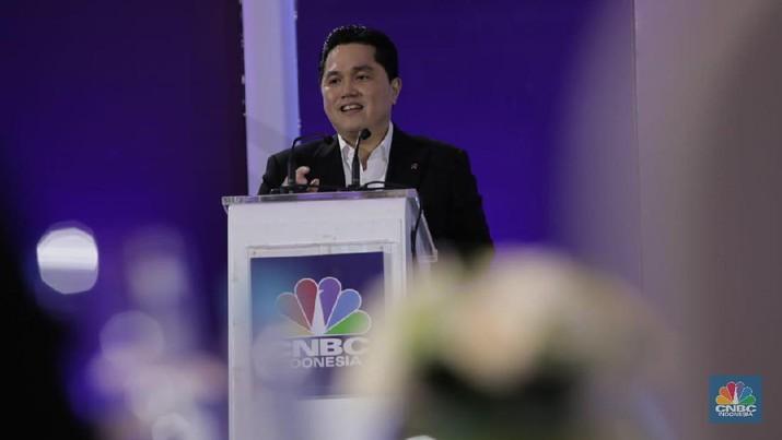 Menteri BUMN Erick Thohir memberi target hingga Juni mendatang bagi PT Bank Rakyat Indonesia Tbk (BBRI).