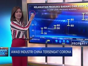 Awas! Industri China Tersengat Corona