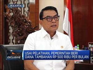 Moeldoko: Kartu Prakerja Sejalan Dengan RUU Omnibus Law