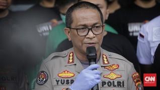 Polisi Ringkus 12 Tersangka Pembuat Ganja Sintesis