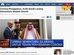 Arab Saudi Tunda Umrah Sementara Waktu Akibat Corona