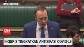 VIDEO: Inggris Tingkatkan Antisipasi Covid-19