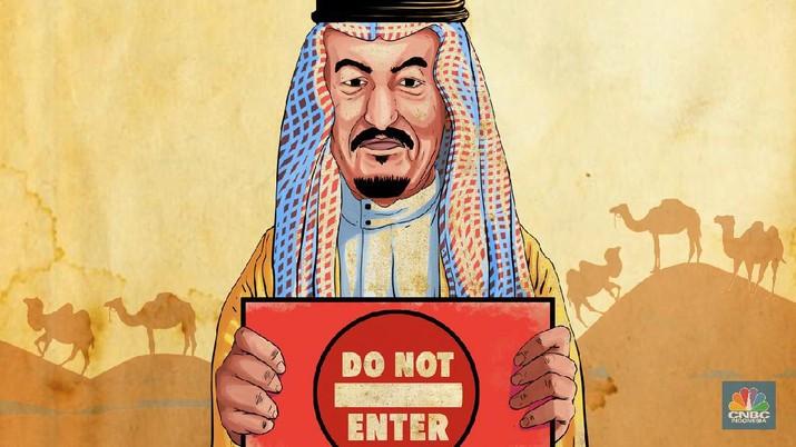 Pemerintah Arab Saudi ngamuk ke Iran karena membiarkan warganya memasuki negara saat ada wabah virus corona.