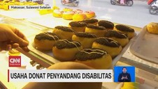 VIDEO: Usaha Donat Penyandang Disabilitas