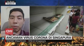 VIDEO: Ancaman Virus Corona Meluas ke Singapura