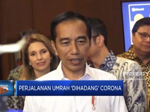 Perjalanan Umrah 'Dihadang' Corona