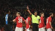 Alasan Kartu Merah di Laga MU vs Brugge Hampir Dianulir