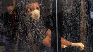 FOTO : Kala Iran Dikepung Virus Corona