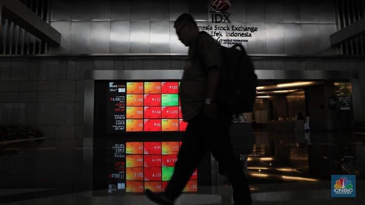 Belum Ada 30 Menit, IHSG Anjlok 4% Dekati Batas Trading Halt