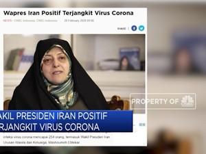 Wakil Presiden Iran Positif Terjangkit Corona