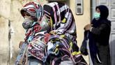 Wakil Presiden Iran yang mengurus persoalan perempuan dan keluarga, Massoumeh Ebtekar dinyatakan positif virus corona.(AP Photo/Ebrahim Noroozi)