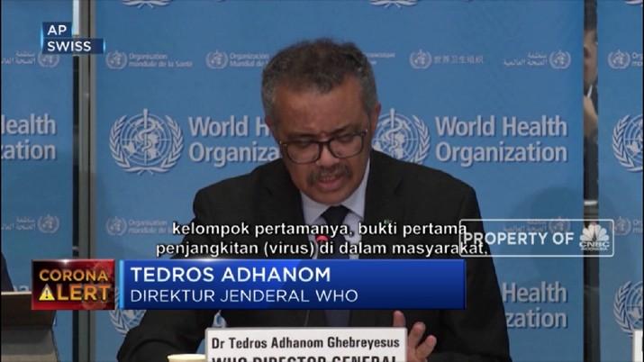 WHO mengatakan pada hari Selasa bahwa tingkat kematian untuk COVID-19 mencapai 3,4% secara global.