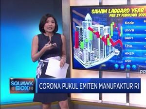 Corona Pukul Emiten Manufaktur RI