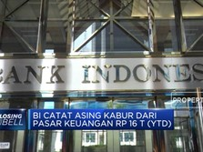 BI Catat Asing Kabur dari Pasar Keuangan Rp 16 Triliun