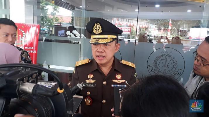 Direktur penyidikan jampidsus kejagung Febrie Adriansyah (CNBC Indonesia/Ferry Sandi)