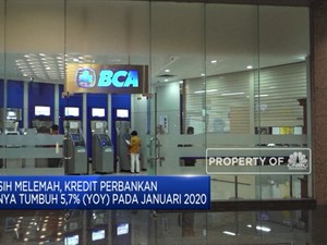Kredit Perbankan Hanya Tumbuh 5,7% (YOY) pada Januari 2020