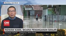 VIDEO: Ridwan Kamil Bicara Penanganan Banjir