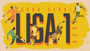 INFOGRAFIS: Serba-serbi Liga 1 2020