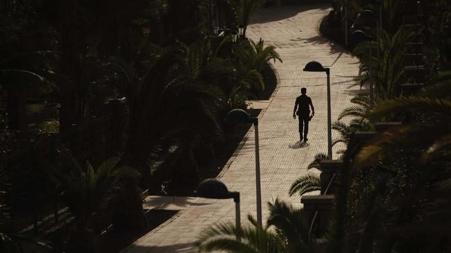 Sampai saat ini tercatat ada 33 orang yang terjangkit virus corona di Spanyol. (AP Photo)