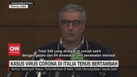 VIDEO: Kasus Virus Corona di Italia Terus Bertambah