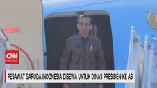 VIDEO: Pesawat Garuda Disewa Untuk Dinas Presiden ke AS