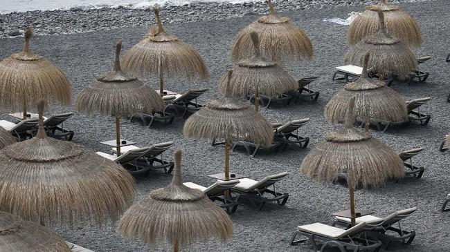 Pemerintah Spanyol sudah berkoordinasi dengan sejumlah negara untuk memulangkan wisatawan asing dari hotel tersebut. (AP Photo/Joan Mateu)