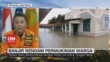 VIDEO: Banjir Rendam Permukiman Warga di Jawa Barat