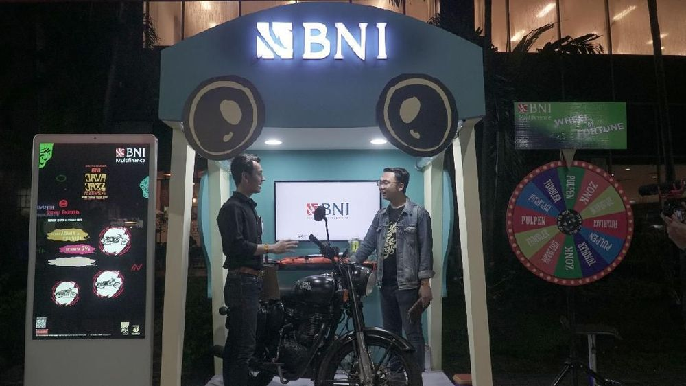 Ada Promo Bunga Kredit Murah di BNI Java Jazz Festival