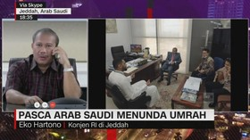 VIDEO: Pasca Arab Saudi Menunda Umrah
