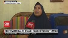 VIDEO: Gagal Berangkat Umrah, Calon Jemaah Kecewa