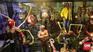 FOTO : Berburu Mainan di Jakarta Toys & Comics Fair 2020