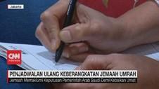VIDEO: Penjadwalan Ulang Keberangkatan Jemaah Umrah