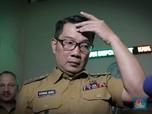 Kang Emil Cek Stadion Candrabaga Bekasi Pagi Ini, Tes Corona?