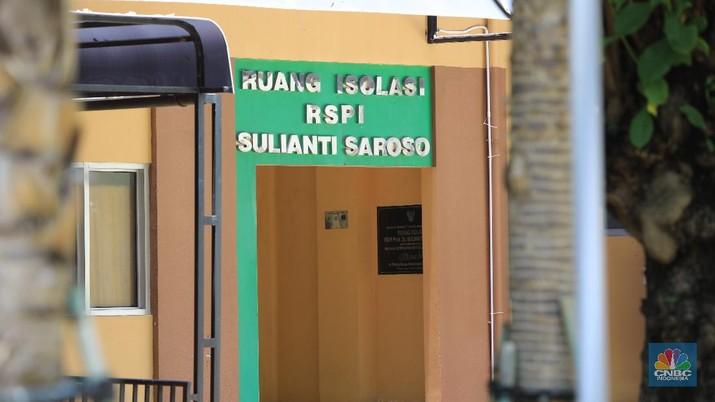 Ruang Isolasi RSPi Sulianti Saroso. (CNBC Indonesia/Andrean Kristianto)