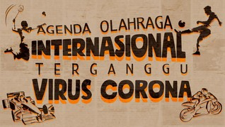 INFOGRAFIS: Virus Corona Usik Pesta Olahraga Internasional