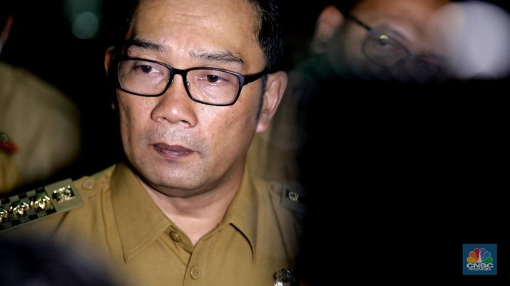 Gubernur Jawa Barat Ridwan Kamil. (CNBC Indonesia/Muhammad Sabki)