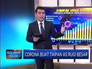 Corona Buat Taipan AS Rugi Besar