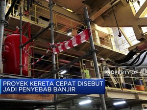 Gara-Gara Bikin Banjir, Proyek KCIC Disetop 2 Pekan