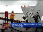 69 WNI ABK Diamond Princess Dievakuasi ke Pulau Sebaru Kecil