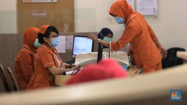 RS Mitra Keluarga Depok, Tempat Pasien Positif Corona Pernah Periksakan Diri. (CNBC Indonesia/Muhammad Sabki)