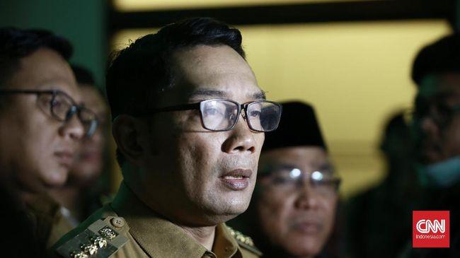 Ridwan Kamil Soal Lockdown: Jawa Barat Aman, Tanya Jakarta