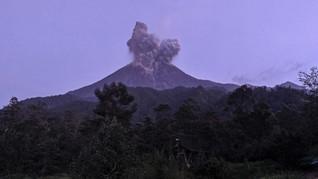 Gunung Merapi Erupsi Minggu Dini Hari, Tinggi Kolom 1.500 M
