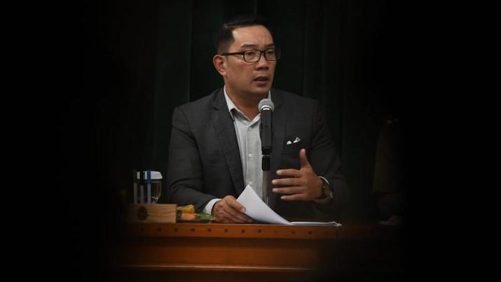 Gubernur Jawa Barat Ridwan Kamil saat menggelar Rapat Lintas Sektoral Pencegahan dan Penanganan COVID-19 Tingkat Provinsi Jawa Barat di Gedung Sate, Kota Bandung, Selasa (3/3/20). (Foto: Rizal/Humas Jabar)