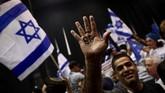 Kelompok oposisi menolak Netanyahu kembali berkuasa karena menganggap ia terlibat kasus korupsi yang mulai diadili pertengahan Maret. (AP Photo/Oded Balilty)