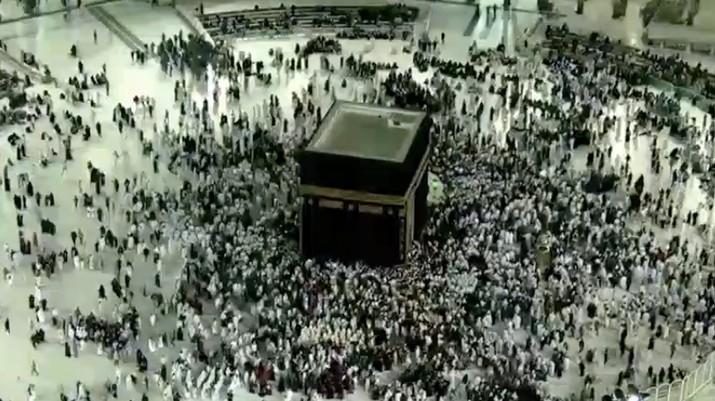 Kondisi terkini Mekkah yang sepi dengan adanya isu virus corona. (Dok: Makkah Live)