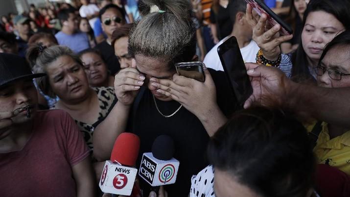 Penyanderaan di sebuah mall di Manila Filipina terjadi Senin (2/3/2020) lalu.